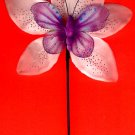 #HAIRSTK-01:Butterfly Fashion Flower Hair Accessory Flower Hair Stick or Pin