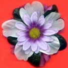 #CLIP-177: Pretty Pastel Purple Hair Clothing Accessory Clip, Pin and Ponytail Holder