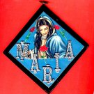 #WALLPLAQUE-15: Hand decorated MARIA Wall Plaque