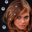 #HAIRCRYSTALS-01: Sparkling Swarovski Hair & Clothing Cyrtals