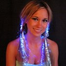 #GLOWCLIP-04: Fiber Optic Hair Clip Fashion Clothing Accessory