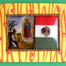 #WALLPLAQUE-26: Hand decorated Virgen of Guadalupe Wall Plaque