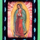 #MGPLAQUE-01: Magnetic Virgen of Guadalupe Picture Frame Print