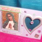 #WALLPLAQUE-22: Hand decorated Virgen of Guadalupe Wall Plaque