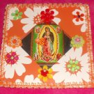 #WALLPLAQUE-19: Hand decorated Virgin of Guadalupe Wall Plaque