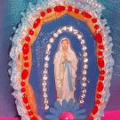 Folkart-17: Novelty virgin mary guadalupe Picture Wall Art