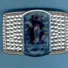 buckle-07: Our Lady Of The Rosary Image Belt Buckle