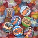 #vmpin-08: Praying Virgin of Guadalupe Clothing Pin