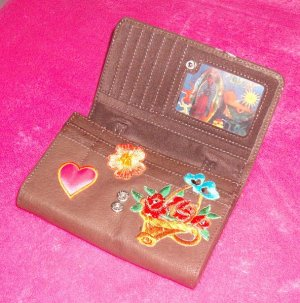 #npurse-04: Novelty Virgin Guadalupe Mother Mary Wallet Purse