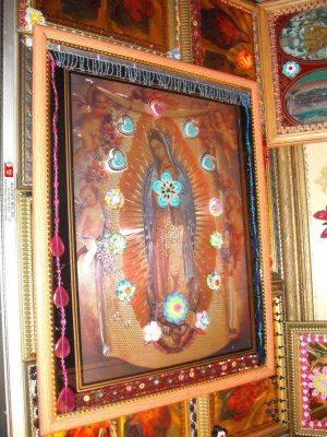 Folkart-24: Virgin of Guadalupe Mother Mary Picture Wall Art