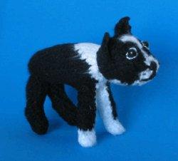 1 Crocheted Boston Terrier Pattern