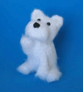 1 Crocheted West Highland White Terrier Pattern