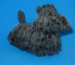 1 Crocheted Scottish Terrier Pattern