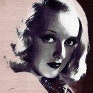 Bette_Davis Poster Art Print size 8x10