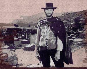 Clint Eastwood Poster Art Print size 8x10