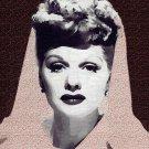 Lucille Ball,  Poster Art Print size 8x10