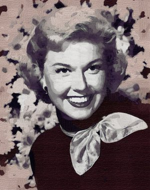 Doris Day Poster Art Print size 8x10