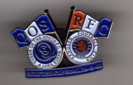 Scottish Cup Final 2008 Pin Badge