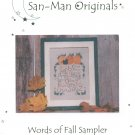 Words Of Fall Sampler