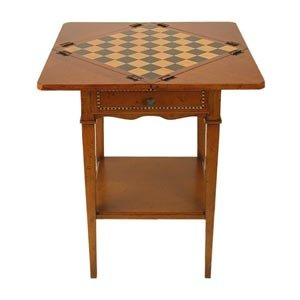 Folding Game End Table