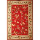Colonial Crimson Area Rug