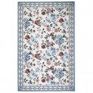 Winslow Blue and Yellow Vase Rug