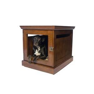 Medium Mahogany Dog House