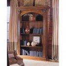Walnut Marquetry Single Bookcase