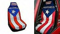 PUERTO RICAN FLAG CAR SEAT COVER