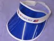 puerto rico plastic visor
