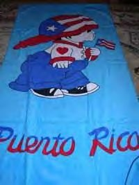 puerto rican boy towel