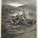 1888 Photogravure on Satin Picturesque California Muir Virgil Williams