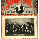 Sometime Vintage Sheet Music Ipana Troubadours Ukulele