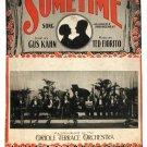 Sometime Vintage Sheet Music Oriole Terrace Orchestra Ukulele