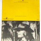 Sunshine on My Shoulders John Denver Vintage Sheet Music 1971