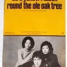 Tie A Yellow Ribbon Round The Old Oak Tree Tony Orlando Dawn Vintage Sheet Music 1973