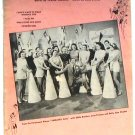 I Don't Want To Walk Without You Vintage Sheet Music 1941