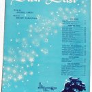 Star Dust Vintage Sheet Music English French Hoagy Carmichael