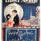 Linger Awhile 1923 Sheet Music Virgil Moore