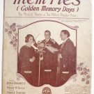 Mem'ries 1928 Sheet Music Philco Radio Hour