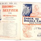 Under The Double Eagle Sheet Music Bromo Seltzer Advert