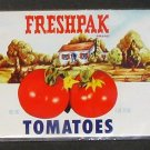 Freshpak Tomatoes Can Label Grand Union Company East Patterson NJ