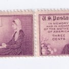 US Scott 737 MNH VF Pair 3c Mothers of America
