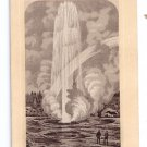 Jersey Coffee Victorian Trade Card Dayton Spice Grand Geyser Yellowstone