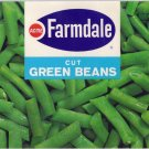 Acme Farmdale Green Beans Vintage Vegetable Can Label