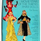 Vintage Paper Dolls Glamorous Movie Stars Thirties Tierney 1978