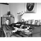Stanford University President R Wilbur At His Desk Press Photo 8X10