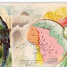 Victorian Trade Card Arbuckle Coffee 1889 Republic of Bolivia Geography Series No 66