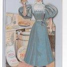 1895 Pillsbury Flour Victorian Paper Doll Cut Out Assembled Advertising Premium