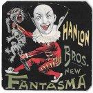 Hanlon Bros Fantasma Volvelle Wheel 6 faces Geo Adams Victorian Vaudeville 1894